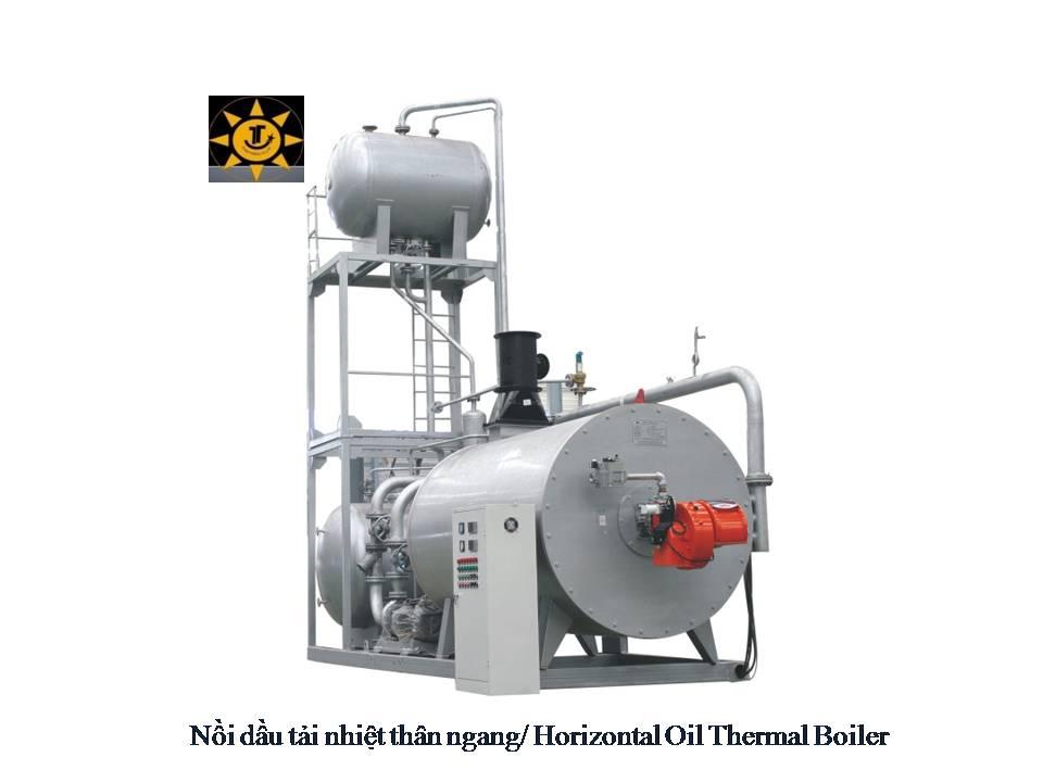 NỒI DẦU TẢI NHIỆT THÂN NGANG/ HORIZONTAL OIL THERMAL BOILER